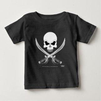 ハゲタカのKulture®の海賊ベビーのTシャツ ベビーTシャツ