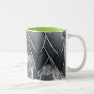 ハシビロコウのマグカップ ツートーンマグカップ