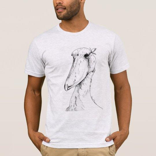 ハシビロコウ shoebill tシャツ