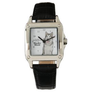 ハスキーなお母さんの腕時計 腕時計