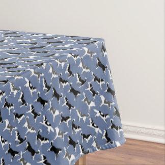 ハスキーなテーブルクロスのハスキーなマラミュートの芸術のテーブルクロス テーブルクロス