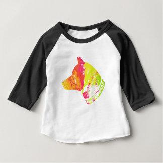 ハスキーな愛 ベビーTシャツ