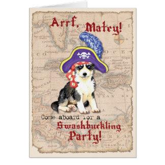 ハスキーな海賊 カード