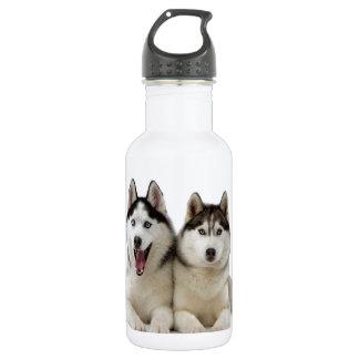 ハスキーな犬 ウォーターボトル
