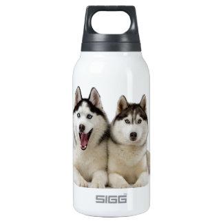 ハスキーな犬 断熱ウォーターボトル