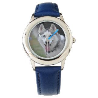 ハスキーな腕時計 腕時計