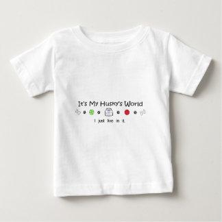 ハスキー ベビーTシャツ