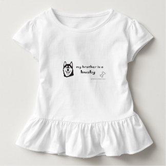 ハスキー-多くは繁殖します トドラーTシャツ