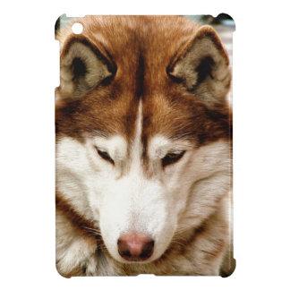 ハスキー iPad MINI カバー