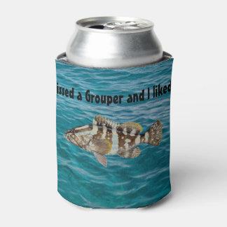 ハタのギフトの人の魚釣りの装飾の漁師の装飾 缶クーラー