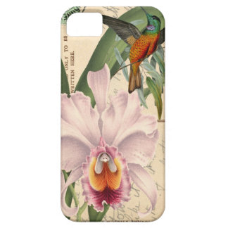 ハチドリおよび蘭 iPhone SE/5/5s ケース