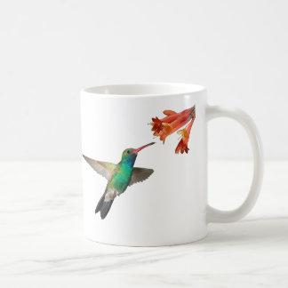 ハチドリが付いているマグ コーヒーマグカップ
