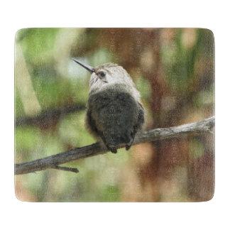ハチドリのひな鳥 カッティングボード