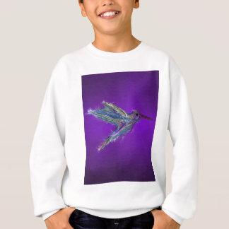 ハチドリのスケッチ スウェットシャツ