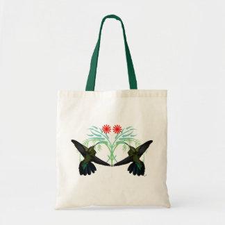 ハチドリのファンタジーのバッグ トートバッグ