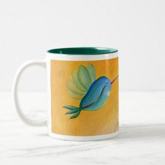 ハチドリのマグ ツートーンマグカップ
