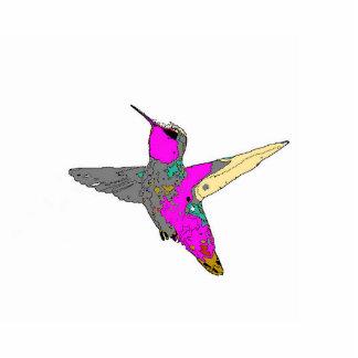 ハチドリの木のオーナメント 写真彫刻オーナメント