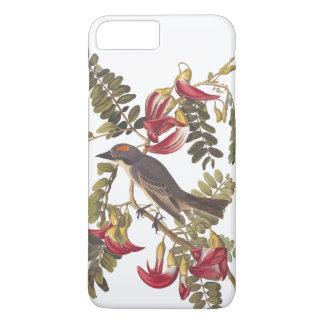 ハチドリの木の専制君主のAudubonの灰色の鳥 iPhone 8 Plus/7 Plusケース