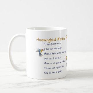 ハチドリの果汁のレシピ コーヒーマグカップ