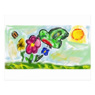 ハチドリの芸術2 ポストカード