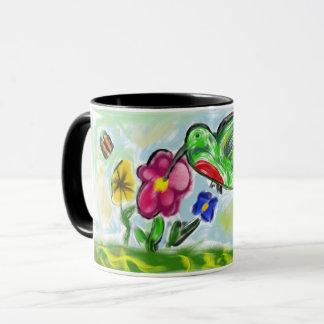 ハチドリの芸術2 マグカップ
