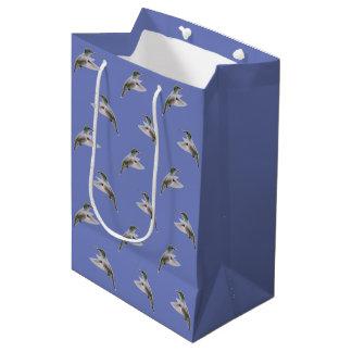 ハチドリの逆上媒体のギフトバッグ ミディアムペーパーバッグ