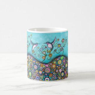 ハチドリの避難所 コーヒーマグカップ