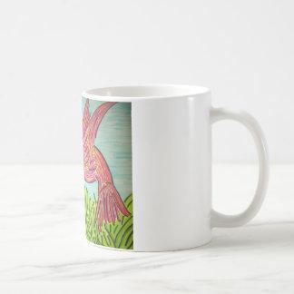 ハチドリの青 コーヒーマグカップ