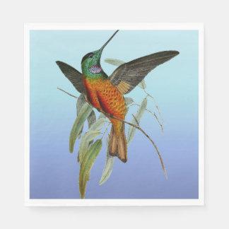 ハチドリの青 スタンダードランチョンナプキン