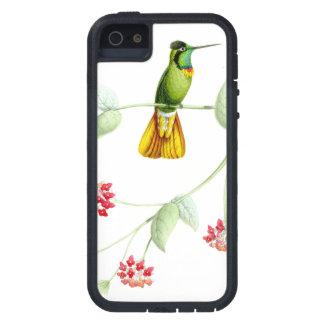 ハチドリの鳥の野性生物によっては花動物が開花します iPhone SE/5/5s ケース