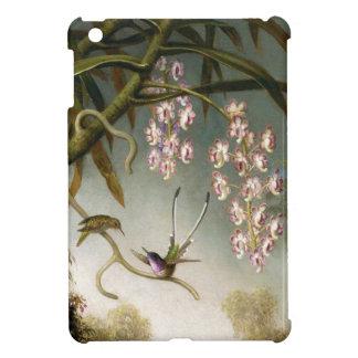ハチドリのiPad Miniケースを持つスプレーの蘭 iPad Miniカバー