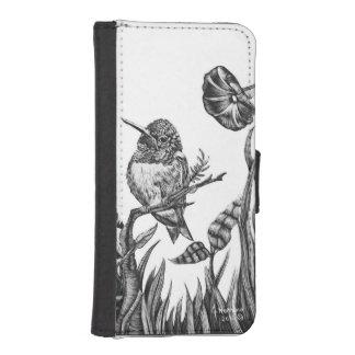 ハチドリのiphoneのウォレットケース iPhoneSE/5/5sウォレットケース