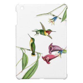 ハチドリ及び花のiPad Miniケース iPad Mini カバー
