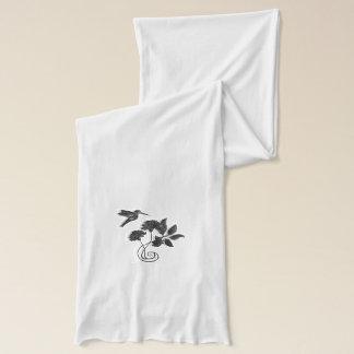 ハチドリ飛行 スカーフ