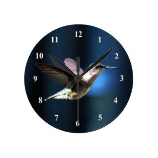 ハチドリ424の時計 ラウンド壁時計