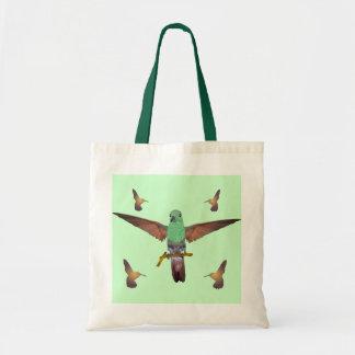 ハチドリ トートバッグ