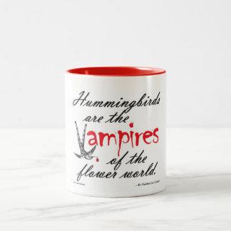 ハチドリ=花の吸血鬼のマグ ツートーンマグカップ