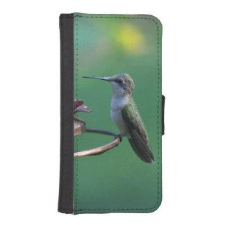 ハチドリ、iPhoneの財布の場合 iPhoneSE/5/5sウォレットケース