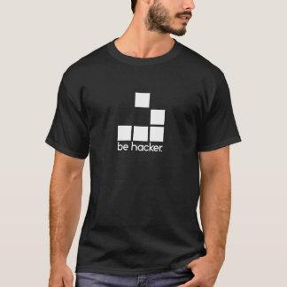 ハッカーがあって下さい Tシャツ