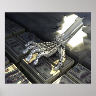ハッカーのロブ銀行 ポスター