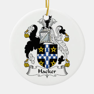 ハッカーの家紋 セラミックオーナメント