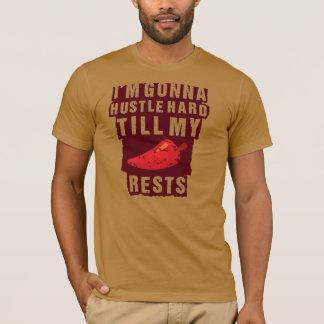 ハッスルは私のコショウの残りのTシャツを耕します Tシャツ