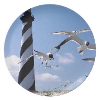 ハッテラス岬の灯台ノースカロライナの灯台 プレート