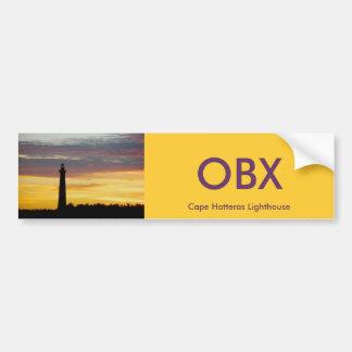 ハッテラス岬の灯台バンパーステッカー#1 OBX バンパーステッカー