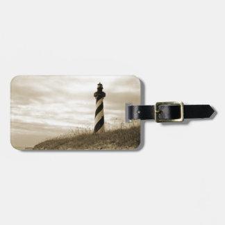 ハッテラス岬の灯台 ラゲッジタグ