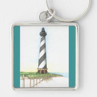 ハッテラス岬の灯台Keychain キーホルダー