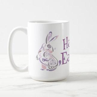 ハッピーイースターのバニー及び卵- 1 コーヒーマグカップ