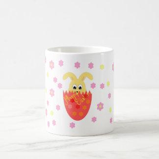 ハッピーイースターのマグ コーヒーマグカップ