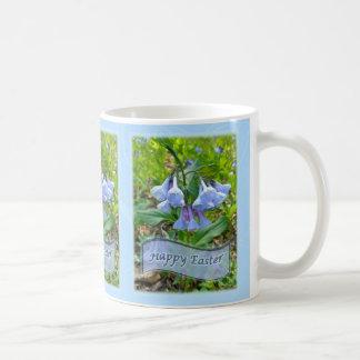 ハッピーイースターのヴァージニアBluebells コーヒーマグカップ
