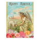 ハッピーイースターの天使 ポストカード